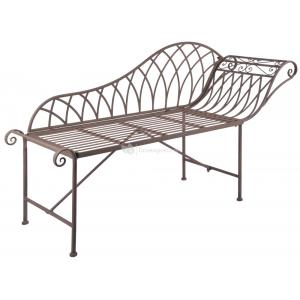 Old Rectory chaise longue metalen tuinbank
