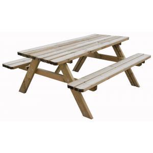 Oslo houten picknicktafel