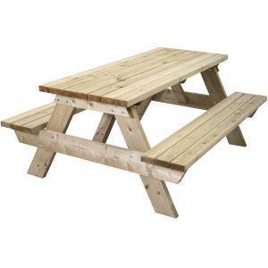 Bonanza houten picknicktafel