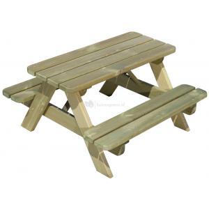 Luxe kinderpicknicktafel geimpregneerd