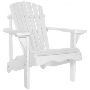 Jumbo Canadian chair 1-zits houten tuinbank wit