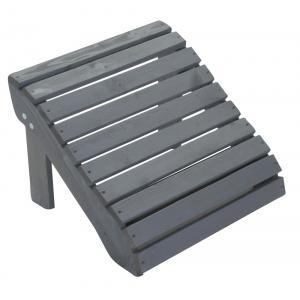 Jumbo Canadian chair voetenbankje grijs