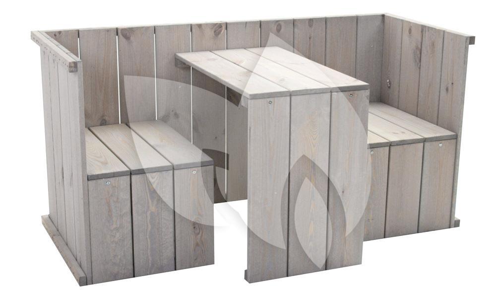 Tuinbank b smart meubelen van steigerhout