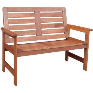 Vera 2-zits houten tuinbank