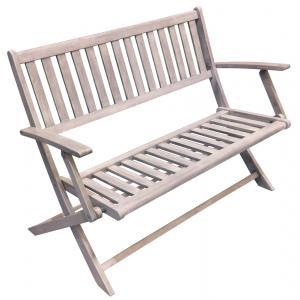 Wales 2-zits houten tuinbank