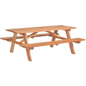 Business picknicktafel hardhout