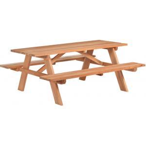 Comfort picknicktafel hardhout