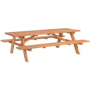 Giant picknicktafel hardhout