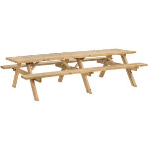 Superieur houten picknicktafel