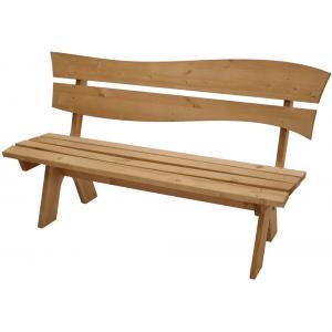 Bazel 3-zits houten tuinbank geimpregneerd