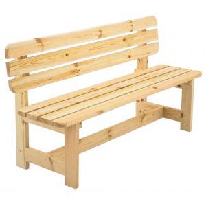 Bergen 3-zits houten tuinbank