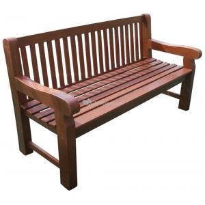 Bristol 3-zits houten tuinbank