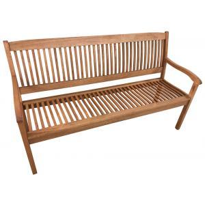 Maracana 3-zits houten tuinbank