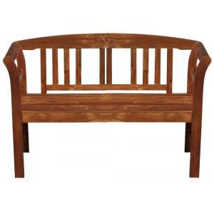 Rosario 2-zits houten tuinbank