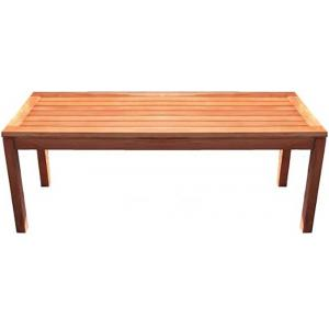 Solo 2-zits houten tuinbank