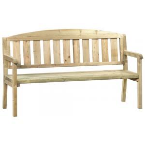 Sparrenbos 3-zits houten tuinbank