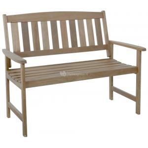 Tuinbank 2-zits houten tuinbank teaklook