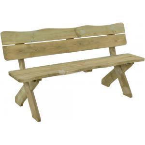 Weidebank 4-zits houten tuinbank